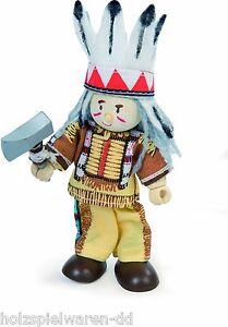"Le Toy Van BK945 Budkins ""Indianer Häuptling"" Biegepuppe NEU! #"
