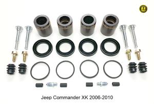 Pour-Jeep-Commande-Xk-Etriers-de-Frein-Avant-Complet-Reparation-Kit-2006-2010