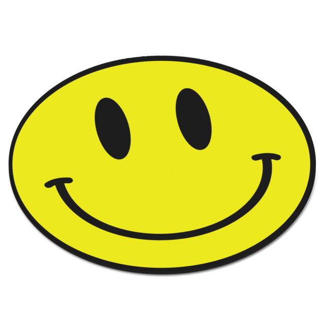 Yellow Smiley Face CIRCLE Drugs Ecstacy Pills PC Computer Mousemat Mouse Mat Pad
