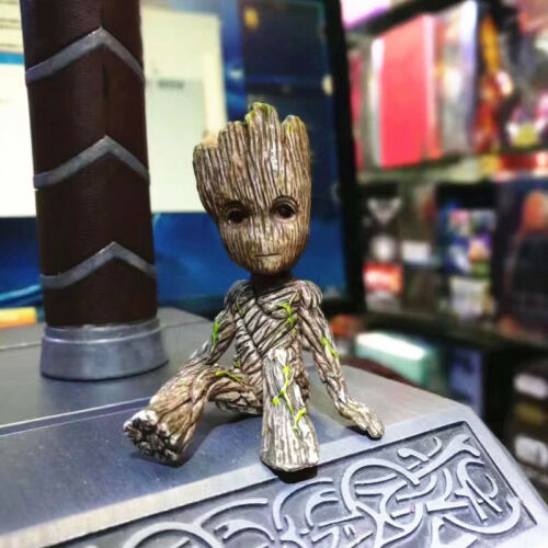1PC Guardians of the Galaxy Baby Groot Vinyl Qute Figure Figurine Doll Toy US