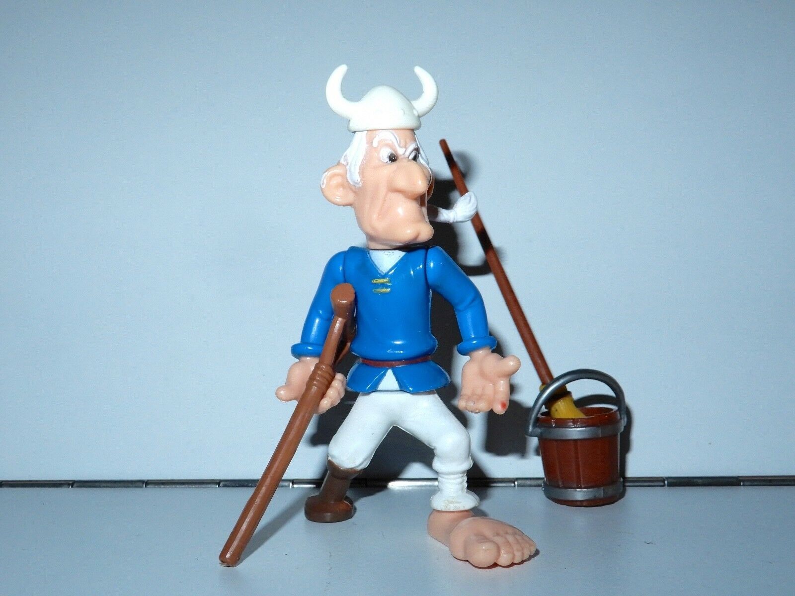 ASTERIX PLAY ACTION FIGURES 6226 PIRATE PEG LEG 100% COMPLETE 1980s CEJI HTF