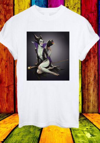 Maleficent Aurora Prince Philip Diaval Sceptre Film Men Women Unisex T-shirt 458