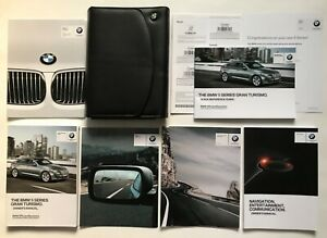 2015 BMW 5 Series Gran Turismo 535i 550i xDrive Owners Manual book
