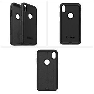 buy popular f62dd 8cfad Details about OtterBox COMMUTER SERIES Case Cover for iPhone Xs Max -  Retail Packaging - BLACK
