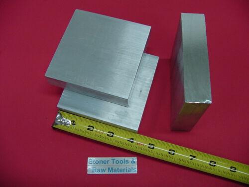 3 Pieces 1 X 4 ALUMINUM 6061 FLAT BAR 4 long Solid Plate Mill Stock 1.00