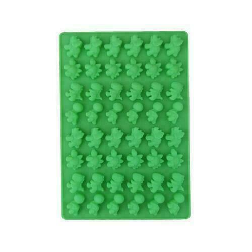 Candy Cavity Maker Chocolate Ice 48 Jelly Bear Mould gr Mold Tray Gummy Silicone