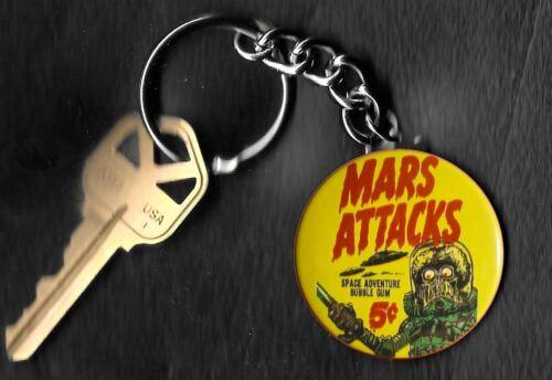 1962 TOPPS Mars Attacks Wrapper Keychain Key Chain