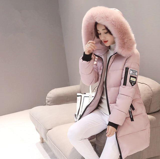 womenes womenes womenes anorak abrigos de invierno largas chaquetas con capucha Casual caliente 01d4de