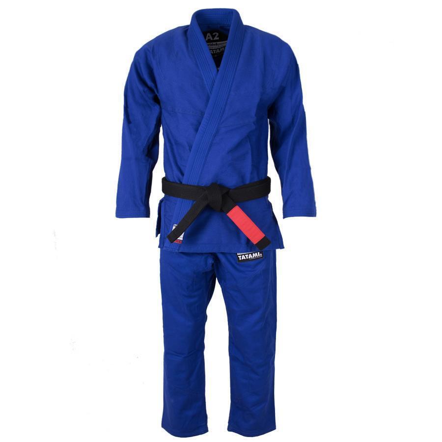Tatami Hokori Uomo Minimal Bjj Gi Blu Uniforme Arti Marziali Ju Jitsu Ideale Jiu
