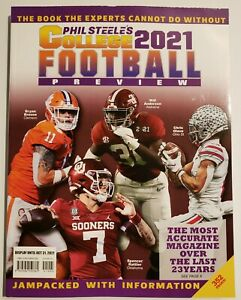 PHIL STEELE'S COLLEGE FOOTBALL PREVIEW 2021 MAGAZINE - BRAND NEW