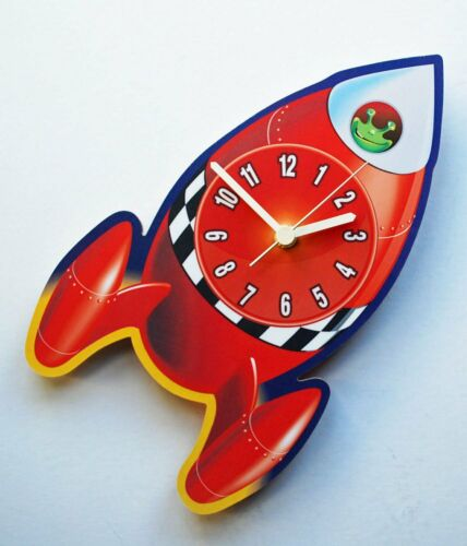 Children/'s Rocket-Horloge KC7