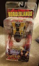 NECA Borderlands Claptrap a.k.a. CL4P-TP (1st Version Original Yellow, 2012)RARE