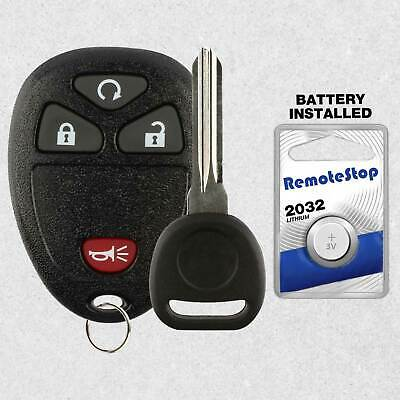 Car Fob Shell Case Pad 4B For 2007 2008 2009 2010 GMC Sierra 1500 2500 3500