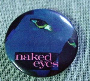 Naked-Eyes-80s-Vintage-Pinback-Button-1-25-034-Diameter