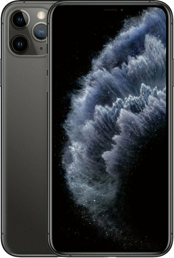 Apple iPhone 11 Pro Max 64GB Space Gray LTE Cellular AT&T MWF92LL/A