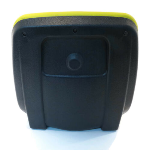 New Yellow HIGH BACK SEAT w// Pivot Rod Bracket for John Deere GX345 GX355 Mower
