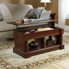 Sauder 420520 Palladia Lift-top Coffee Table Cherry Finish