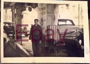 Vintage-1953-Photograph-Car-Chrysler-Desoto-Dealership-Interior-Signs-Cars