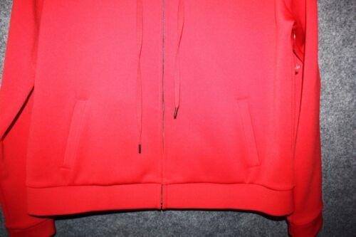LANE BRYANT GLAMOUR X RED ATHLETIC SPORT LONG SLEEVED HOODIE JACKET