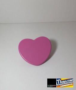 Maniglia-cuore-fuxia-32mm-cameretta-armadio-design-purple-heart-handle-Mobilfino