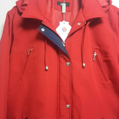 Women/'s New Winter Warm Hooded Padded Quilted Parker Parka Jacket Coat 12 to 24