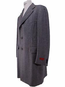 Caricamento dell immagine in corso ISAIA-cappotto -UOMO-lungo-LANA-coat-SPINA-DI- 39baabbbb2a