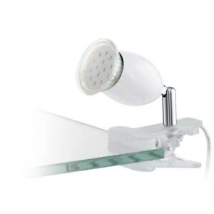EGLO-BANNY-1-Blanco-gu10-led-1x3w-Foco-Plastico-Acero-Transparente-Cromado