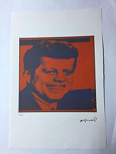 Andy Warhol Litografia 57 x 38 Arches France Timbro Secco Galleria Arte A101