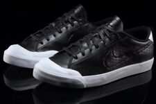item 2 NIKE ALL COURT 2 LOW LEATHER MEN'S SHOE - Black/White/Black -NIKE ALL  COURT 2 LOW LEATHER MEN'S SHOE - Black/White/Black