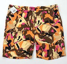 Loudmouth Golf Tango Cotton Blend Tour Shorts Size 42 Wild Print Go Go Girls NEW