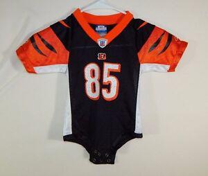 4f45f8df Details about Chad Johnson Cincinnati Bengals NFL Football Jersey Onsie  Reebok Size 18 Months