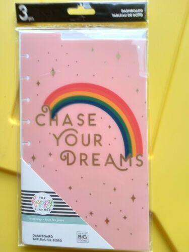 Happy PlANNER Rainbow Dashboards Classic