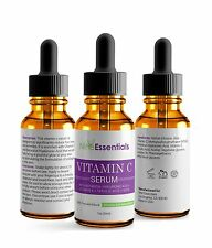 ▶ Pure Vitamin C Hyaluronic Acid Serum 20% for Face   BEST Anti Aging   30 mL