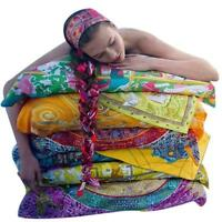 Women Lady Retro Big Square Silk-like Satin Large Scarf Wrap Printing Shawl ONE