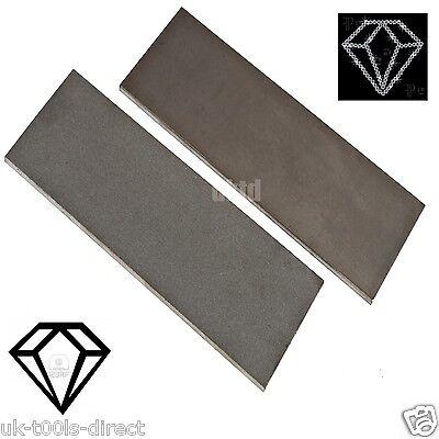 Diamond Whetstone Sharp Sharpener Edge Set★2pc★Fine★Coarse★150 x 50 x 4mm★Solid★