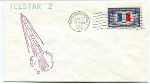 1963 Telstar 2 Satellite Cape Canaveral Usa Nasa