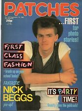 Patches Magazine 10 September 1983 No. 236  Nick Beggs of Kajagoogoo  Bananarama
