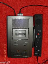 GRUNDIG Dt3210 Stenorette mit Netzteil und Handmikrofon,geprüft 100%OK,NEUWERTIG