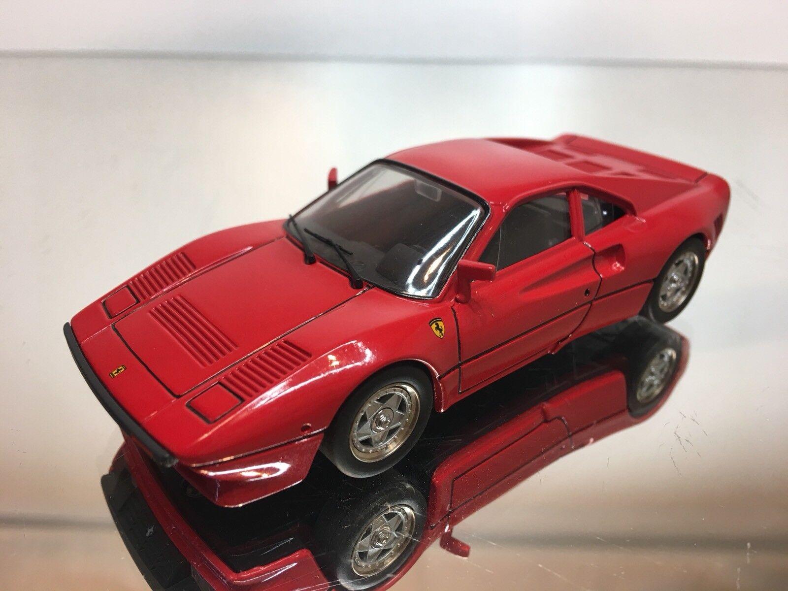HAG SWISS FERRARI 288 GTO röd 1 43 EXCELLENT KONDITIONEN
