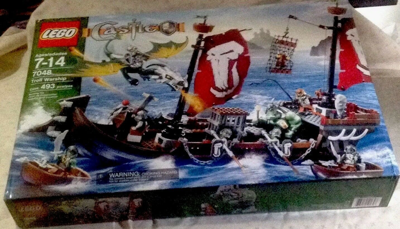 LEGO CASTLE Troll Warship Brand New New New Factory Sealed Retired 265de6