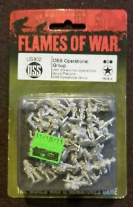 Flames of War American - US802 OSS Operational Group - Mid War - Special Forces