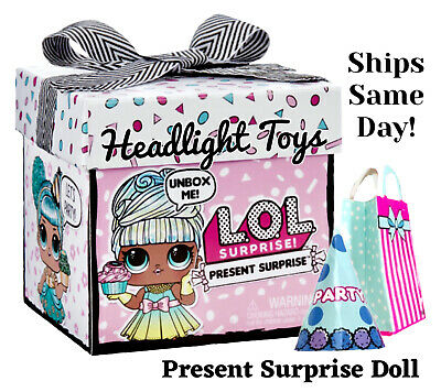 NEW LOL Present Surprise Big Sister Doll Gift Box Birthday Party-*IN HAND* 1X