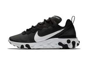 Nike-W-React-Element-55-Black-Multi-Size-US-Womens-Athletic-Running-Shoes