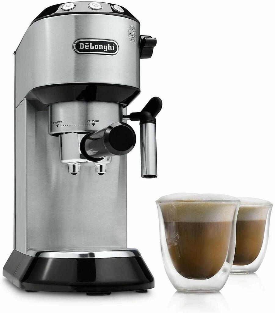 Delonghi EC680 Dedica 15 Bar Espresso and Cappuccino Machine 1300W   Ebay
