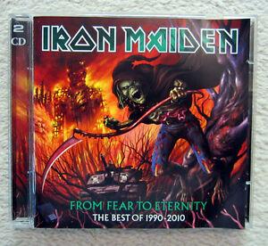DCD / IRON MAIDEN / FROM FEAR TO ETERNITY / BEST OF 1990-2010 / RAR /