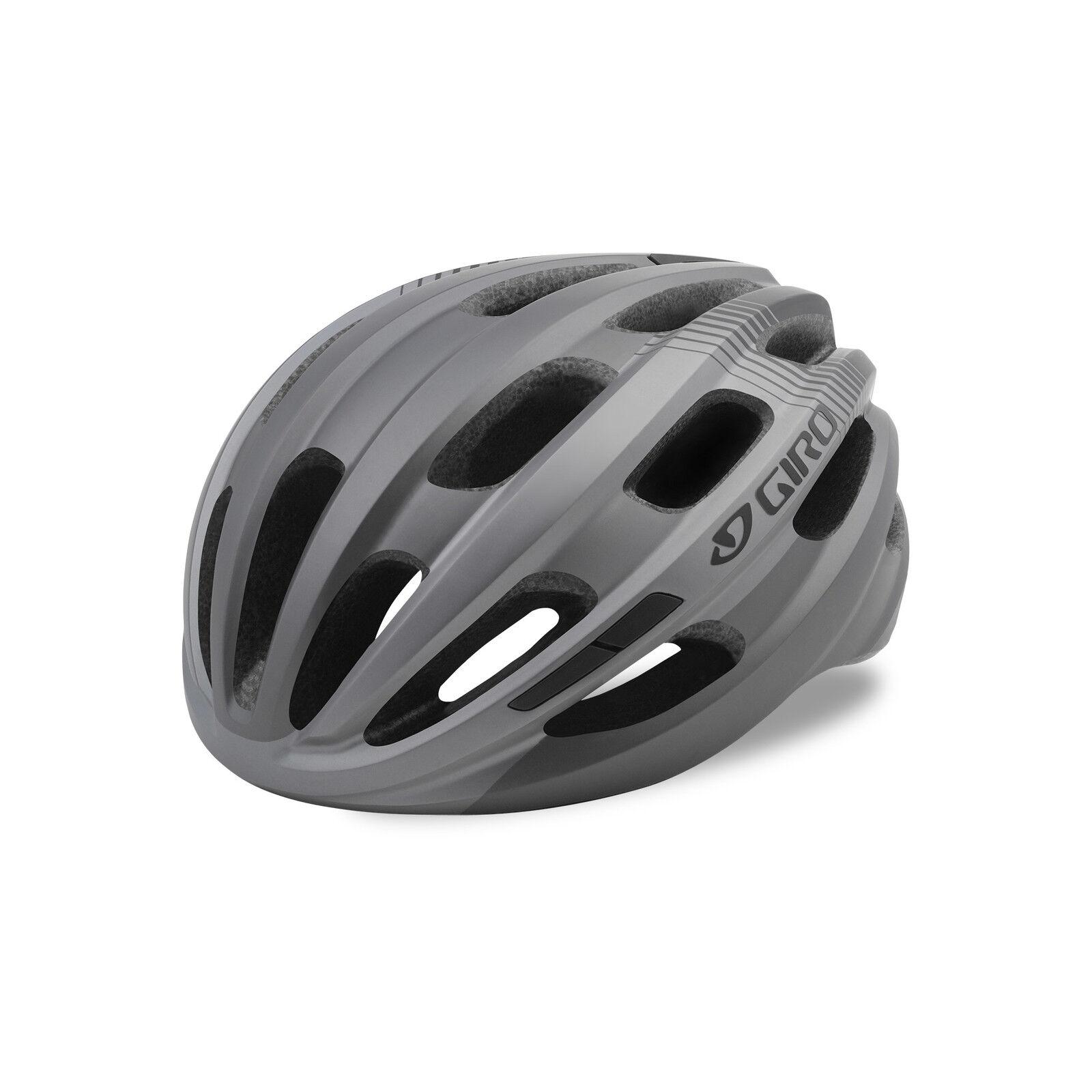 Giro Isode Fahrrad Helm Gr. 54-61cm grey 2019