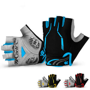 Cycling Gloves MTB Bike Short Half Finger Breathable Sports Gloves M-XL size