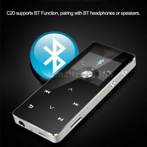 8GB Wireless Bluetooth FM Radio Metal MP3 Lossless Portable Music Player TF X6N2