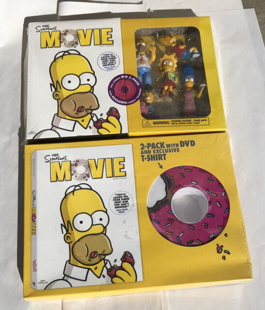 The Simpsons Movie With Figurines 2 Pack For Sale Online Ebay
