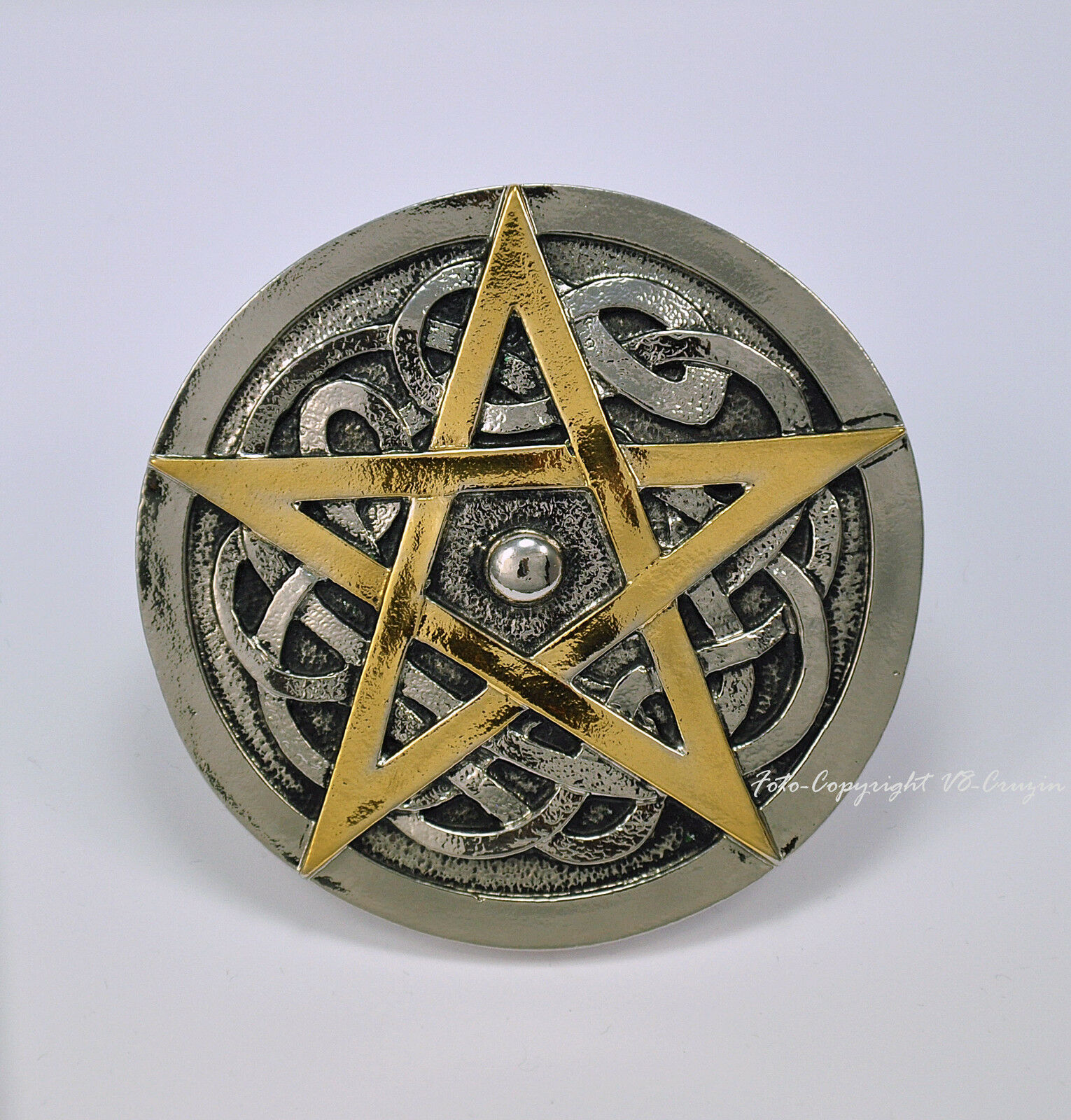 * Pentagramm Belt Buckle Kelten Mittelalter Gotik Fantasy Gürtelschnalle * 486